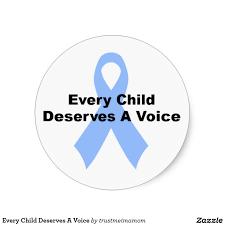 Every child deserve a voice